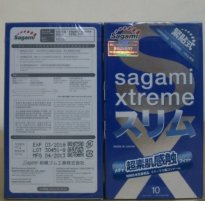 BCS36 Bao cao su Sagami Xtreme Feel Fit 3D New
